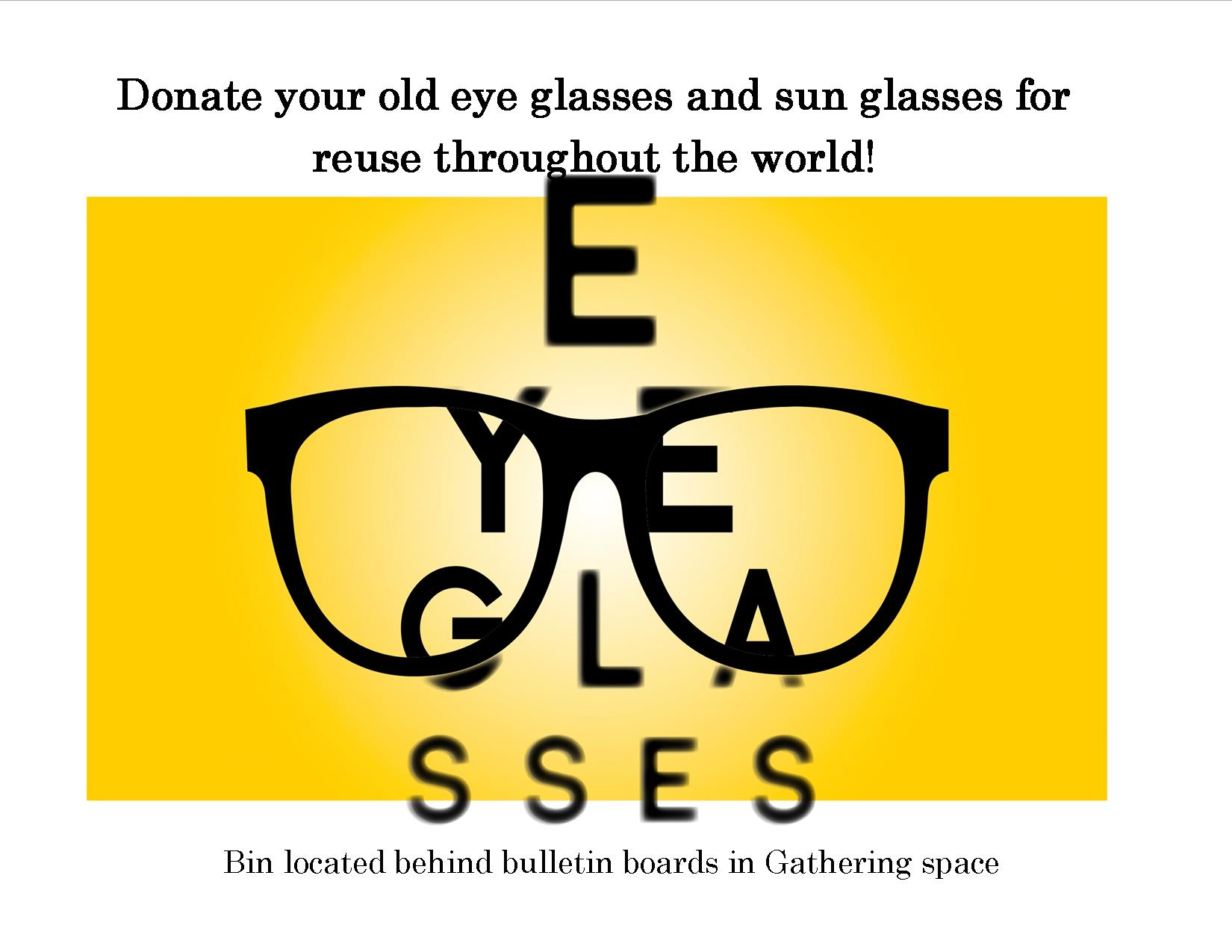 Eyeglass Donation - Church of the Ascension
