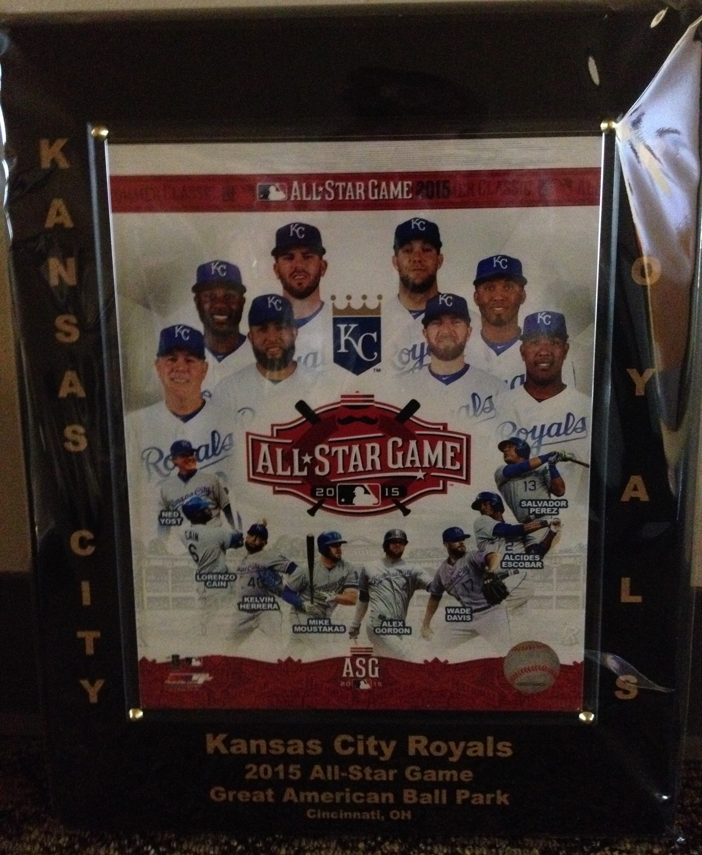 new product ec99e 121d1 Plaque-KC Royals All Star Game - Church of the Ascension