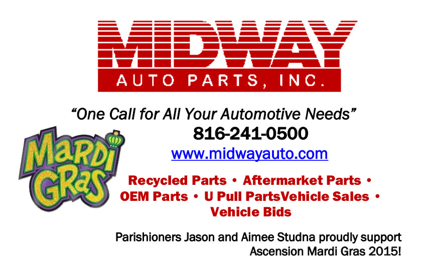 Midway Auto Parts >> Midway Autoparts Church Of The Ascension