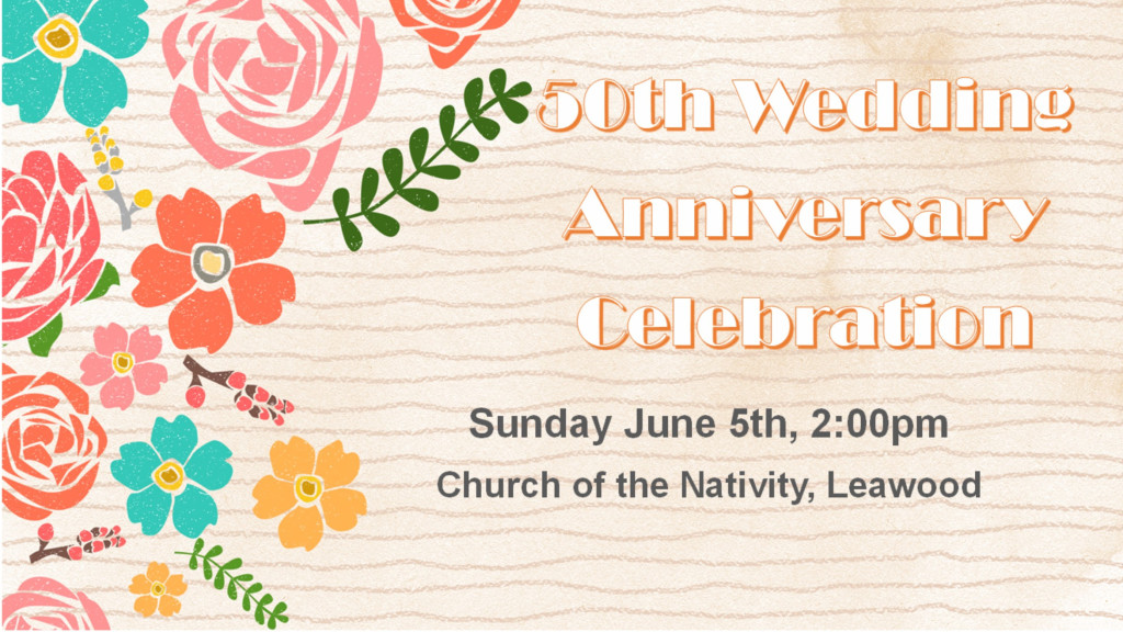 Archdiocese 50th Anniversary Celebration