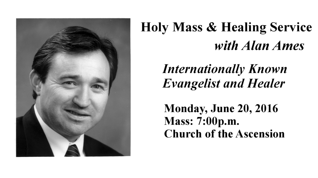 Healing Service with Alan Ames