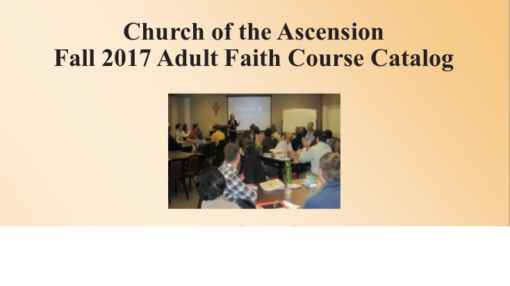 Adult Faith Courses - Sign Up Now!