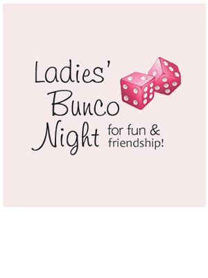 Women Of Ascension Bunco Game Night